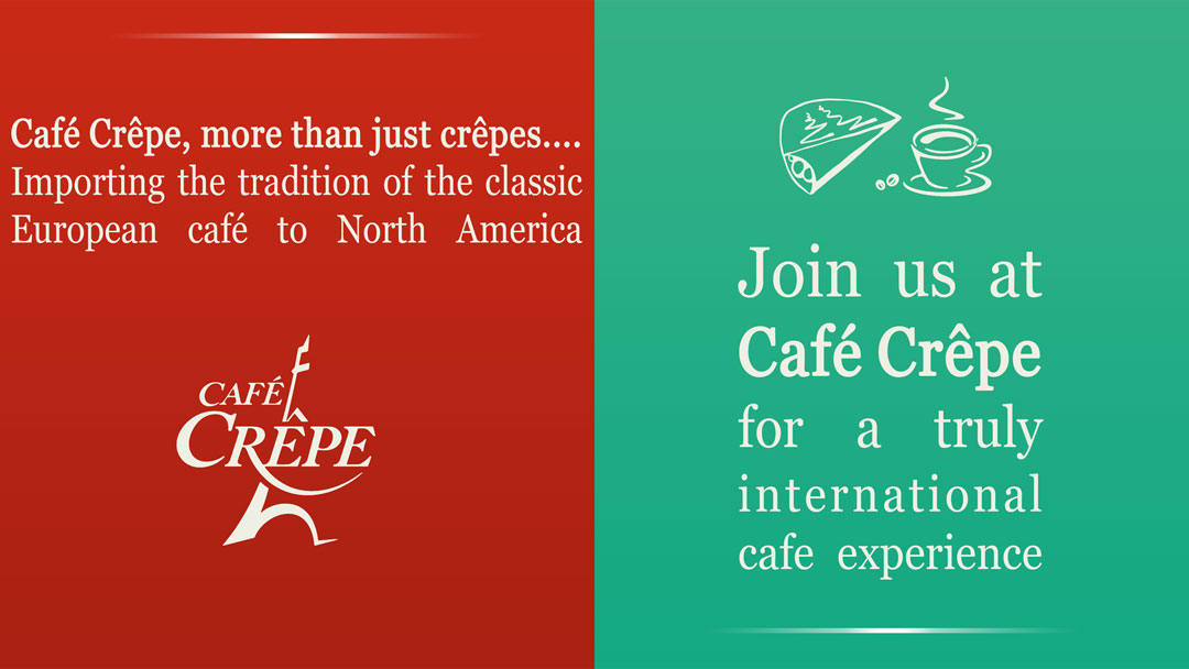 Café Crêpe advertising campaign by Pawel Osmolski